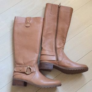 Brand New Nine West Leather riding boots